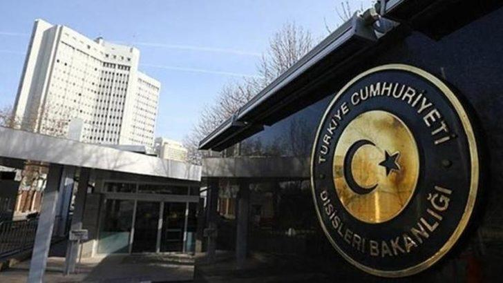 Dışişleri Bakanlığı Sözcüsü Hami Aksoy'dan sert açıklama!