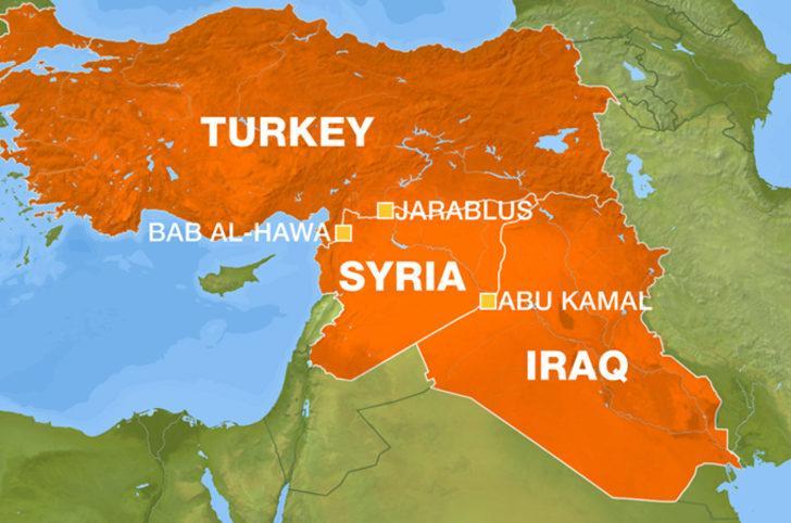 Irak-Suriye sınırında hareketlilik!