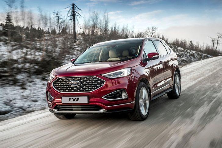 Yeni Ford Edge daha fazla performans ve teknolojiyle geliyor