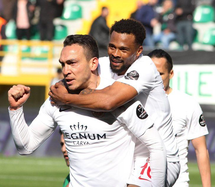 Akhisarspor 1 - 2 Antalyaspor