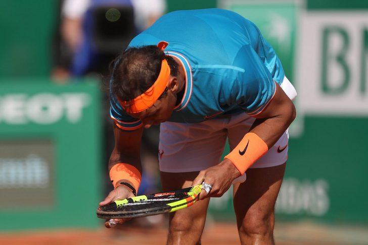 Rafael Nadal, Monte Carlo'ya yarı finalde veda etti