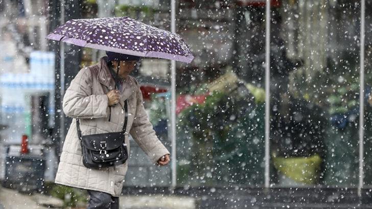 Meteoroloji'den son hava durumu tahmini uyarısı! (Nisan ayında kar bekleniyor)