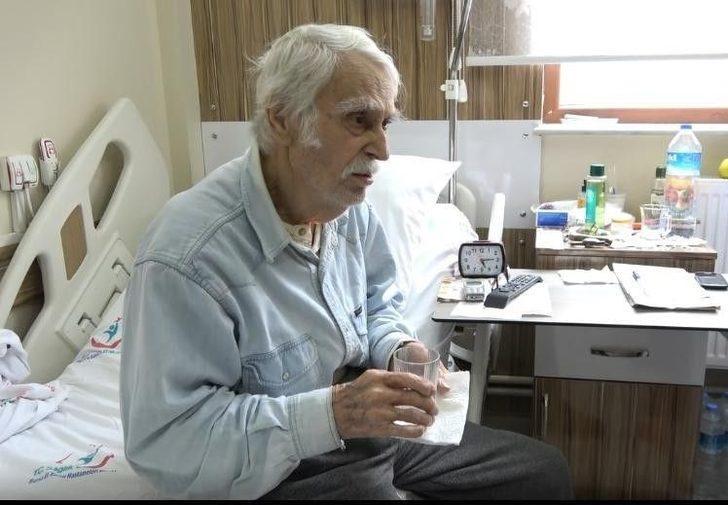 Eşref Kolçak, 3 aydır hastanede tedavi görüyor