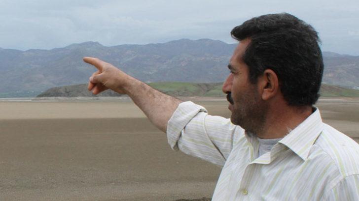 Kurumaya yüz tutan nehir 5 yıl sonra bambaşka bir hal aldı