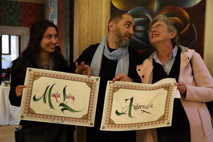 'Kelimenin kalbi' sergisi Roma'da büyük ilgi gördü