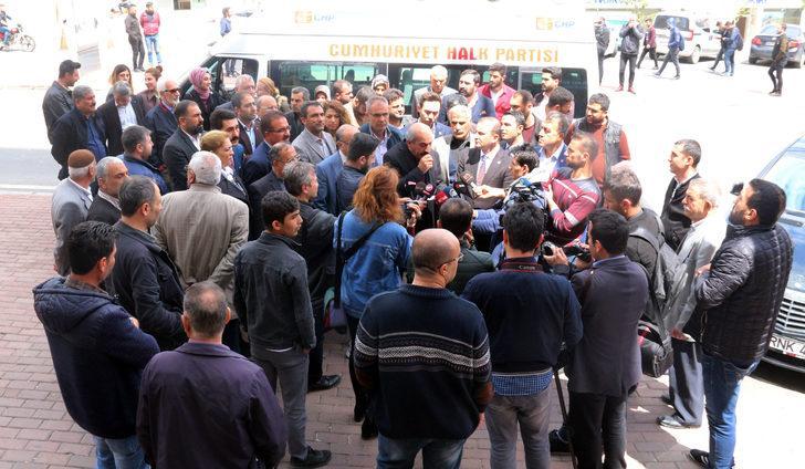 Şanlıurfa'da CHP'lilerden Kılıçdaroğlu'na saldırı tepkisi