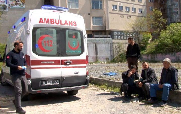 Arnavutköy'de metruk bir binada yaşayan şahsın şüpheli ölümü