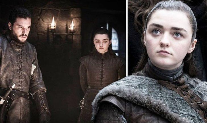 Game of Thrones'ta Arya Stark'ın seks sahnesi olay oldu (DİKKAT! SPOILER İÇERİR)