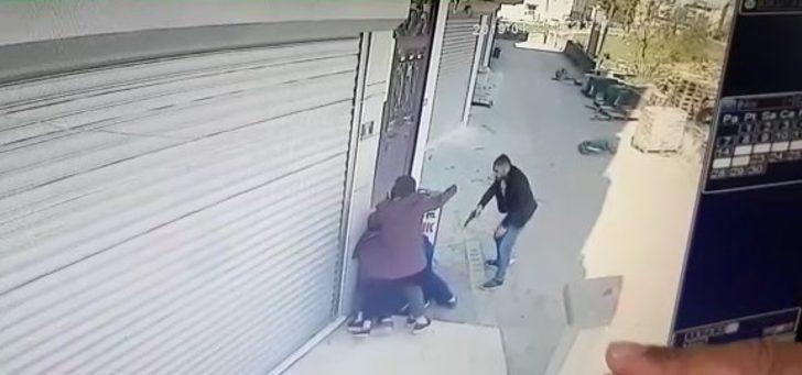 Önce husumetlisini ardından eşini tabanca ile yaralayıp kaçtı