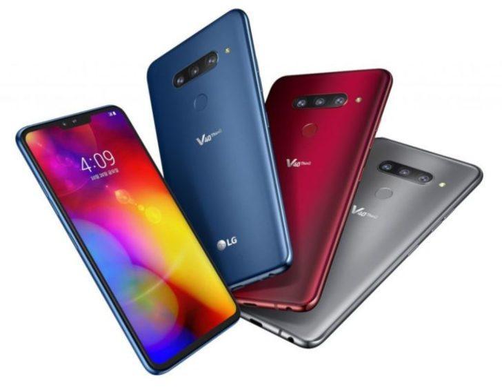 LG V40 ThinQ DxOMark tarafında güncelleme aldı