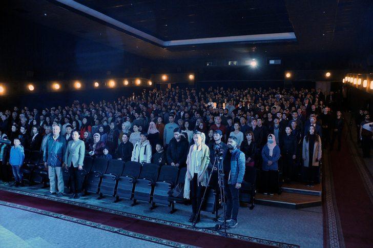 Türk film haftasının açılışına yoğun ilgi!