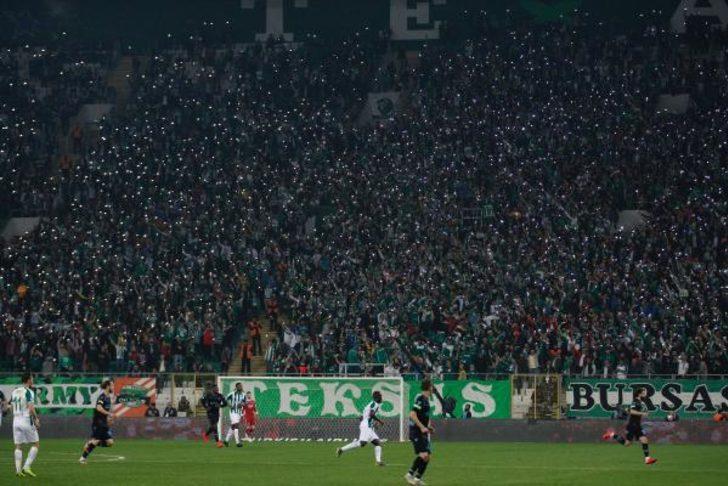 Bursaspor'un seyirci ortalaması 20 bini aştı