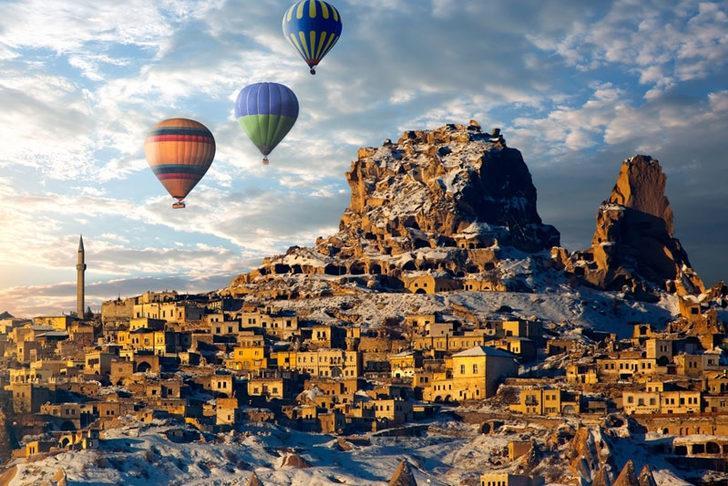 Kapadokya'da doluluk yüzde 100!