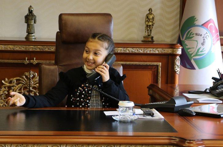 "Temsili Rize Valisi Hanzade: ""Vali olabilirim, güzel işmiş"""