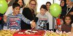 Hasta çocukların 23 Nisan kutlaması