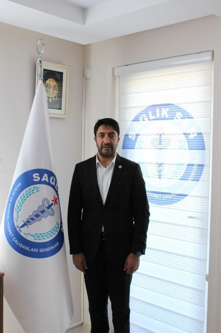 """Sağlık-Sen Balıkesir Şube Başkanı Nihat Erzi: """"Ebelik en kutsal mesleklerden birisi"""""""