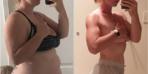 57 kilo veren 3 çocuk annesinin son hali şaşırtıyor!