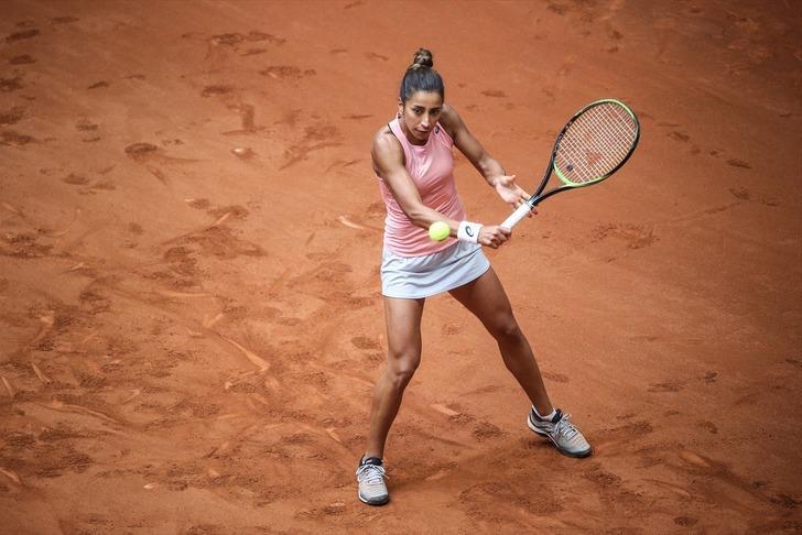 Çağla Büyükakçay TEB BNP Paribas İstanbul Cup Uluslararası Kadınlar Tenis Turnuvası'na veda etti