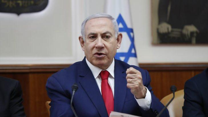 Netanyahu'dan Macron'a İran uyarısı