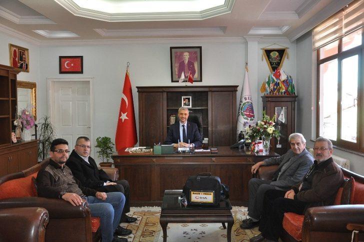 Başkan Biçer, basın mensuplarıyla buluştu