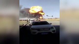 Yakıt tankeri böyle patladı