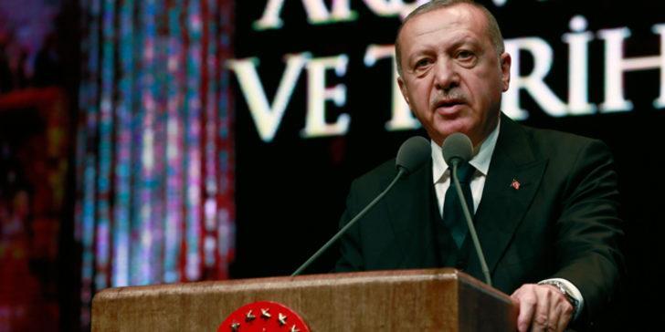 Cumhurbaşkanı Erdoğan'dan Aram Ateşyan'a mektup