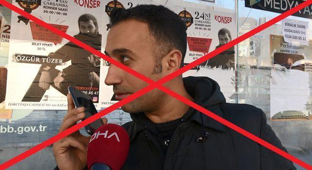 // HABER İPTALİ //