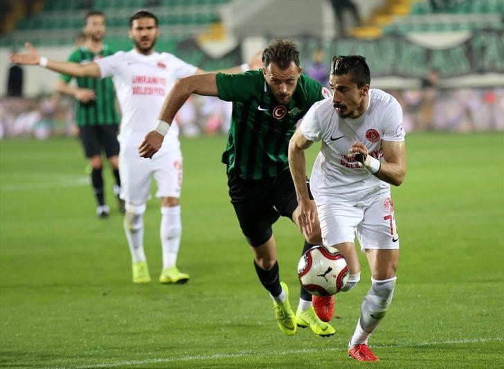 Akhisarspor 1 - 0 Ümraniyespor