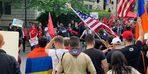 Türkler ve Ermenilerden Karşılıklı Gösteri