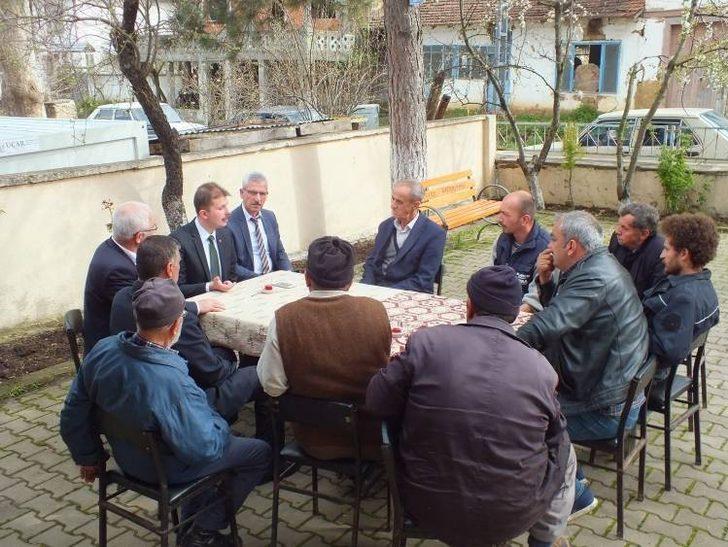 Pazaryeri Kaymakamı Kurt, Gümüşdere köyünü ziyaret etti