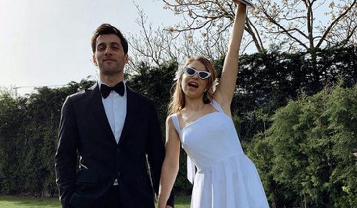 Hande Erçel'in ablası Gamze Erçel evlendi!