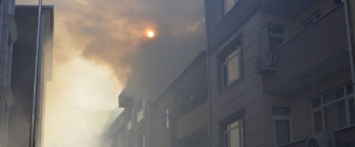 Üsküdar'da yangın paniği!