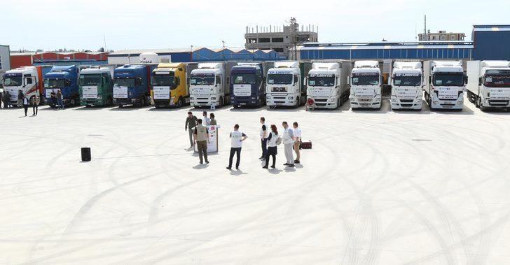 Bosna Hersek'ten Suriye'ye 600 tonluk Ramazan yardımı
