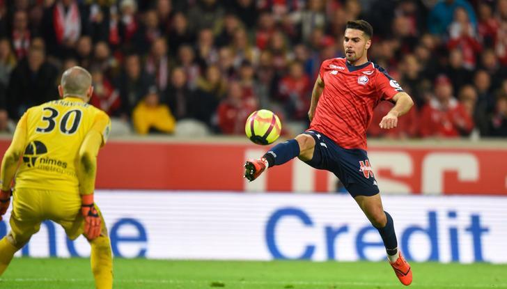 Lille'in Nimes'i 5-0 yendiği maçta Zeki Çelik bu sezonki ilk golünü attı