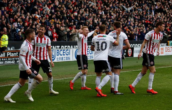 Sheffield United 12 yıl sonra Premier Lig'e yükseldi!