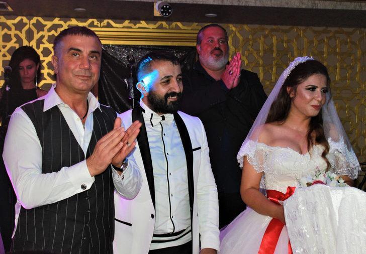 Sedat Peker, manevi kardeşinin nikah şahitliğini yaptı
