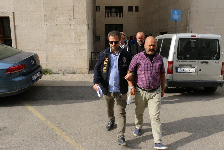 Bursa'da müstehcen görüntülerle şantaja 3 tutuklama