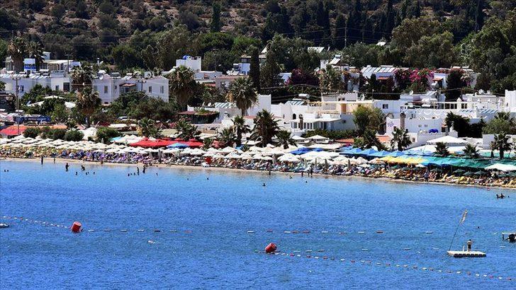 Güney Ege'de yerli turist turizmciye bayram ettirdi