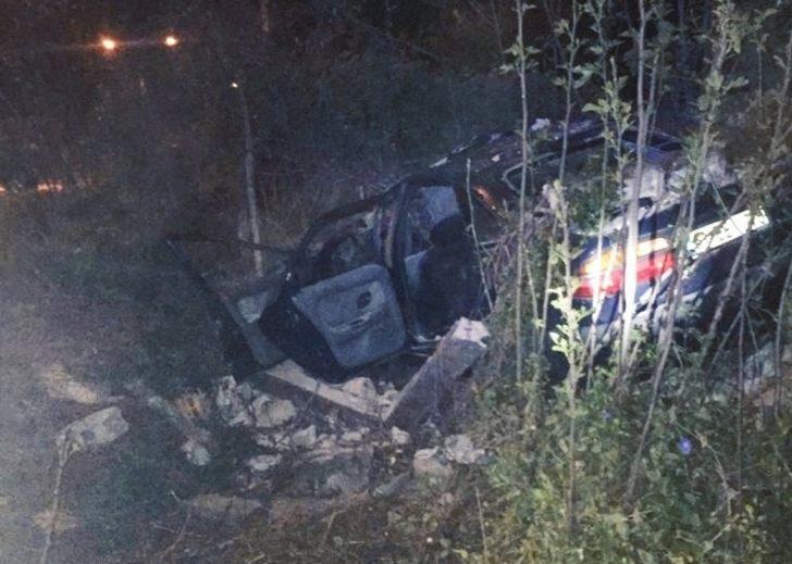 Samsun'da trafik kazası: 1 ölü