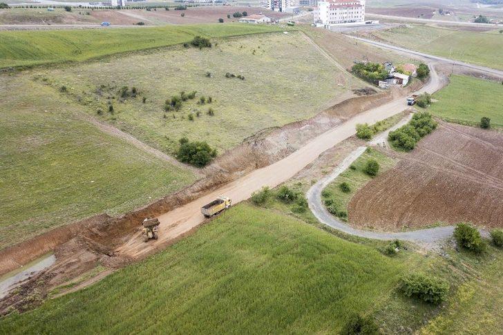 Yenimahalle'ye 100 bin ton asfalt