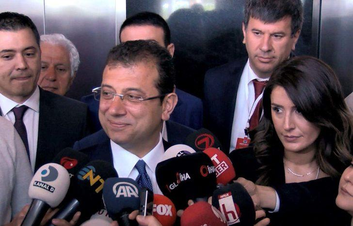 İmamoğlu: Türkiye'nin geleceğe aydınlık bakabildiği kararı vereceklerini umuyorum