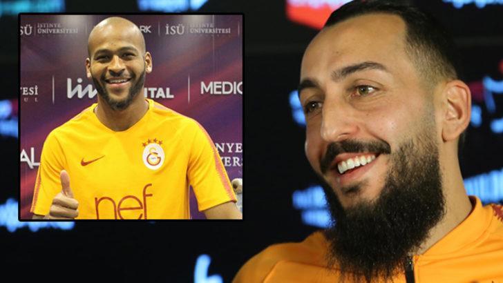 Galatasaray'a Marcao'dan iyi, Mitroglou'dan kötü haber