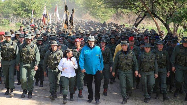 Maduro'dan dikkat çeken sözler! Savaş uyarısı