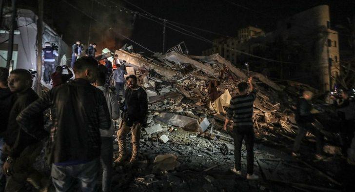 ABD'den İsrail'in, AA ofisinin de vurulduğu hava saldırılarına ilişkin açıklama