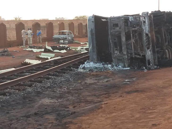 Nijerya'da yakıt tankerinde patlama: 55 ölü