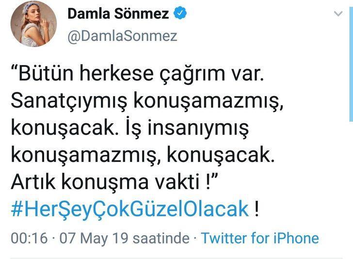DAMLA SÖNMEZ