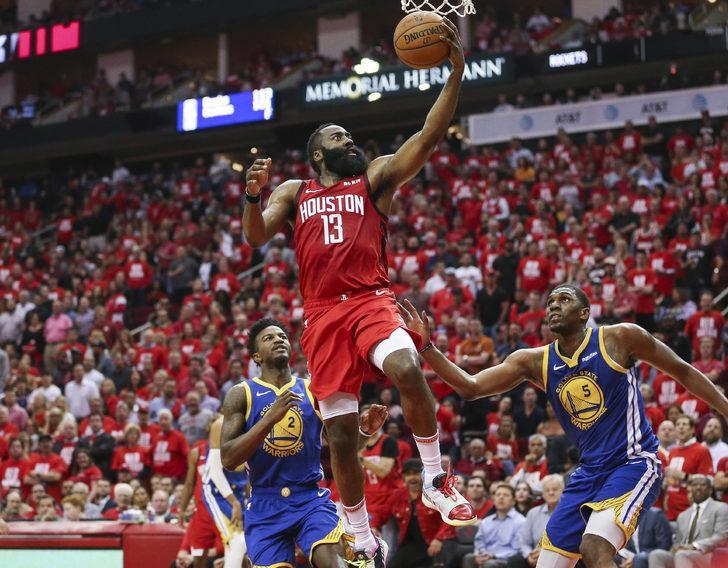 Houston Rockets Golden State'i 112-108 yendi ve seriyi 2-2'ye getirdi