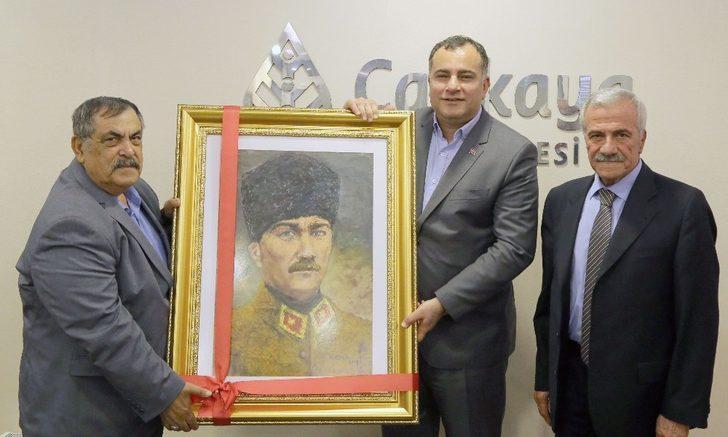 Kahramanmaraşlılardan Taşdelen'e kutlama
