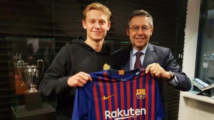Frenkie de Jong - Ajax > Barcelona | BONSERVİS BEDELİ: 75 milyon Euro
