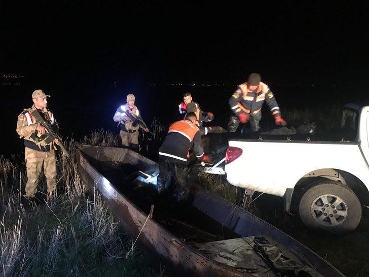 Van'da kaçak avlanan 1.9 ton inci kefali ele geçirildi